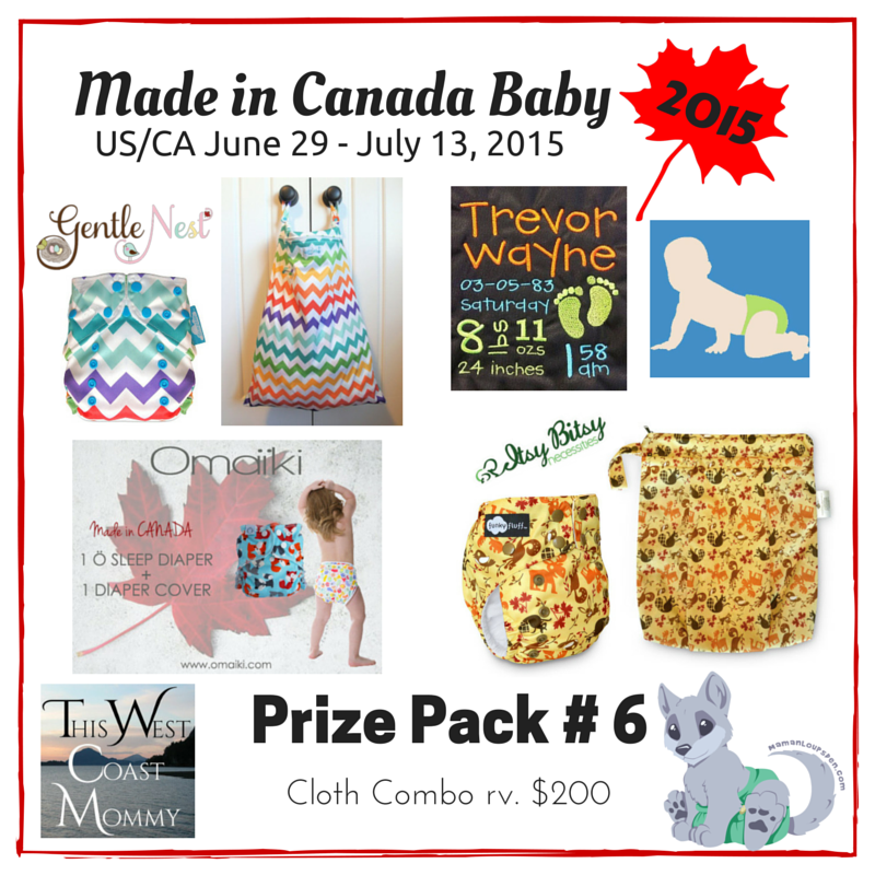 Made in Canada Baby Prize Pack 6