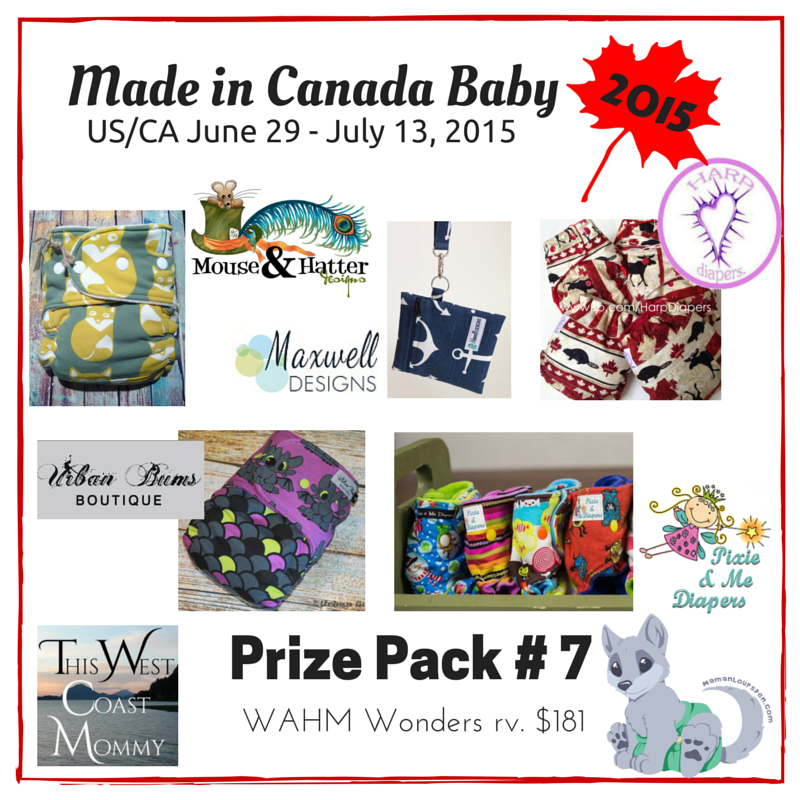 Made in Canada Baby Prize Pack 7