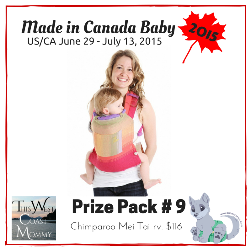 Made in Canada Baby Prize Pack 9
