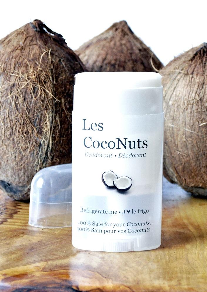 Les CocoNuts Deodorant open