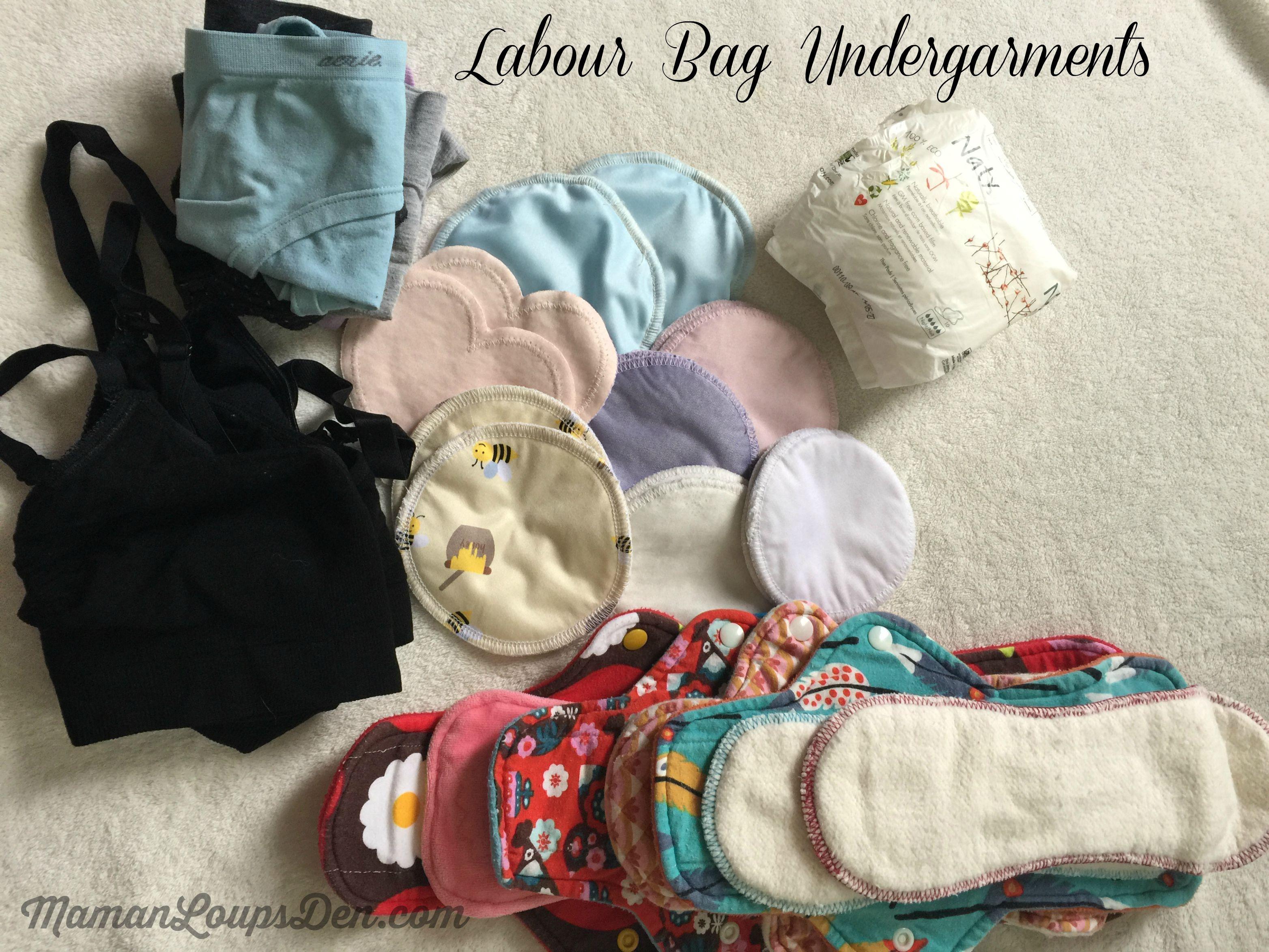 Labour Bag Undergarments ~ Maman Loup's Den