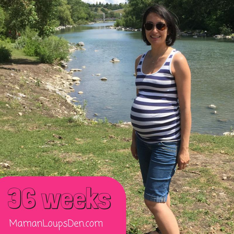Maman Loup's Den 36 Week Pregnancy Journal