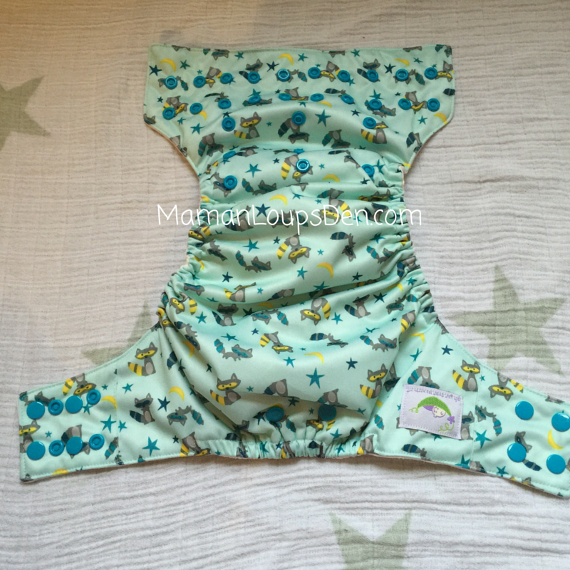 Sweet Pea Diapers One-Size AIO Full Diaper View