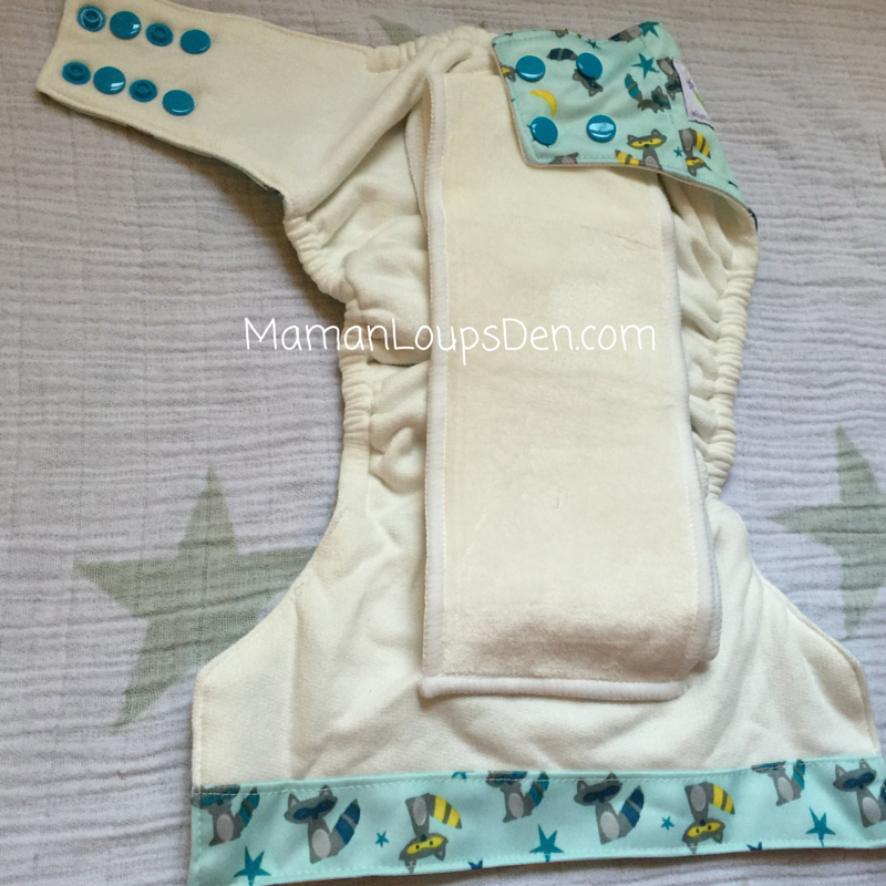 Sweet Pea Diapers One-Size AIO Interior ~ 1