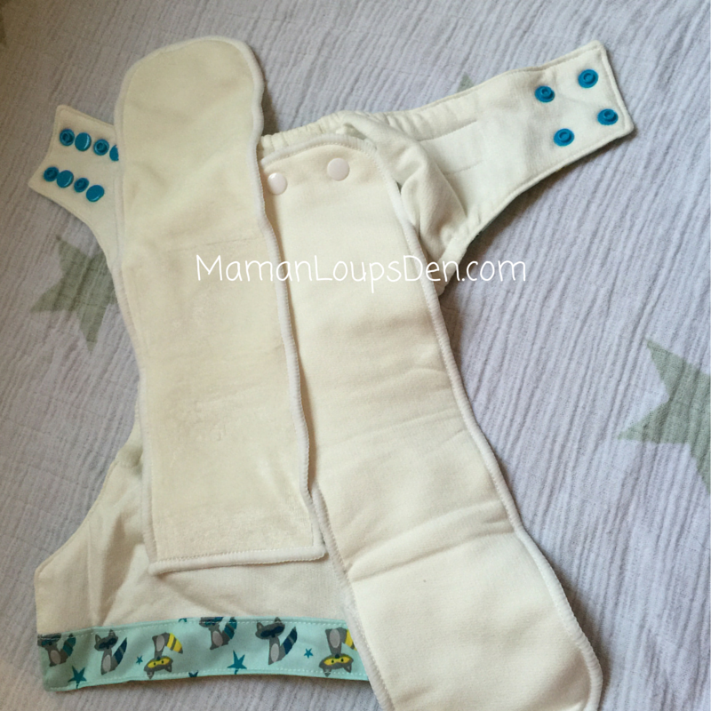 Sweet Pea Diapers One-Size AIO Interior ~ 2
