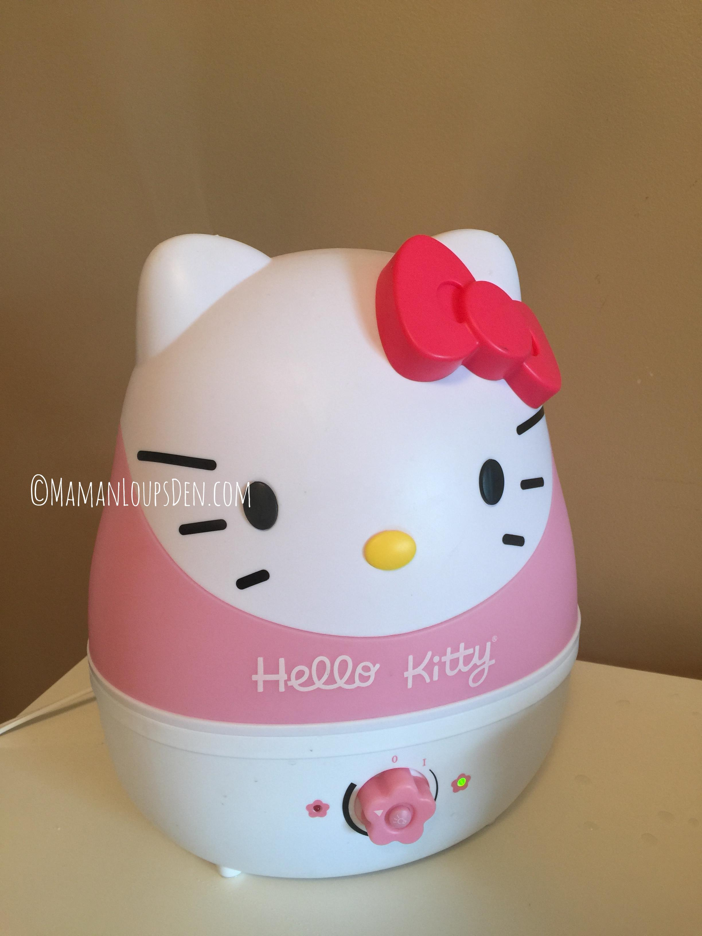 Crane Cool Mist Humidifier Hello Kitty
