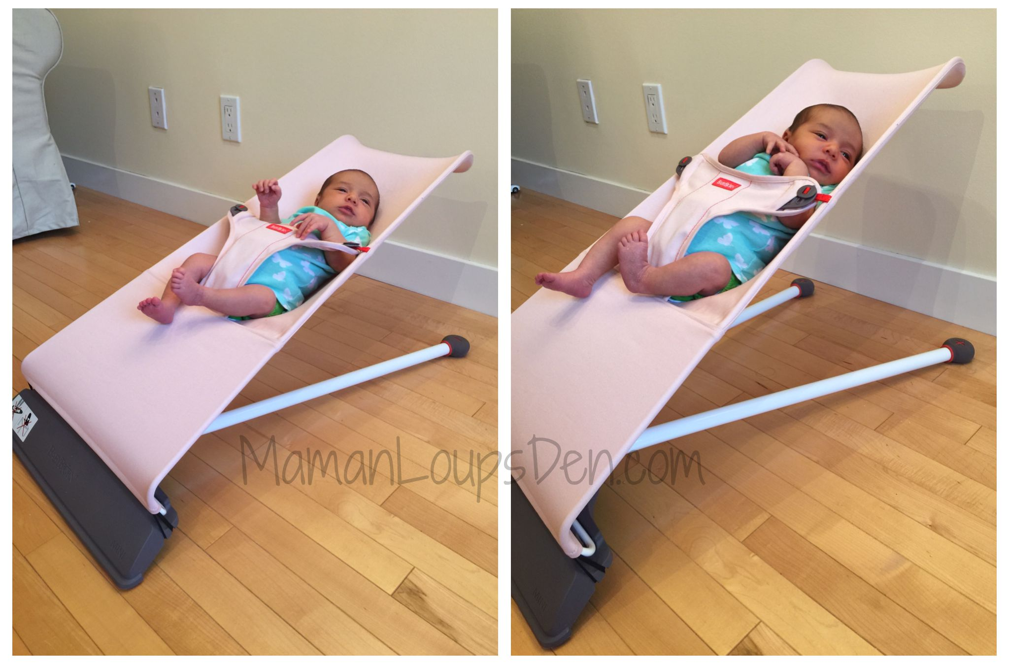 BabyBjorn Bouncer Mini Recline and Upright