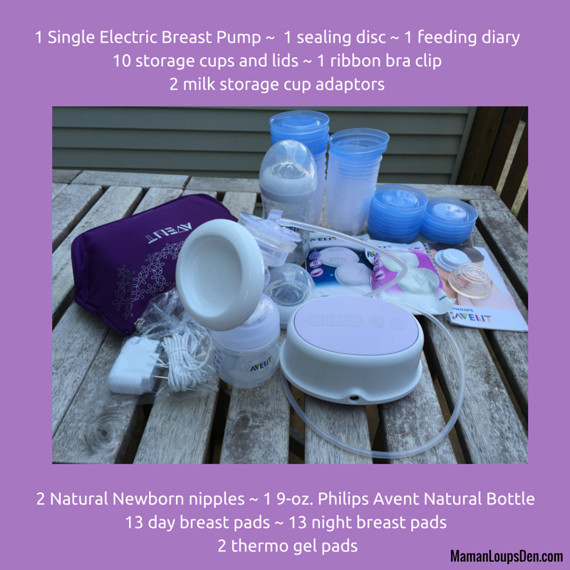 Pump & Store Your Milk With Ease: Philips AVENT Comfort Kit Review #AVENTMomCA