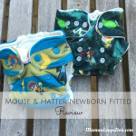 Mouse & Hatter Newborn Fitted Diaper Review