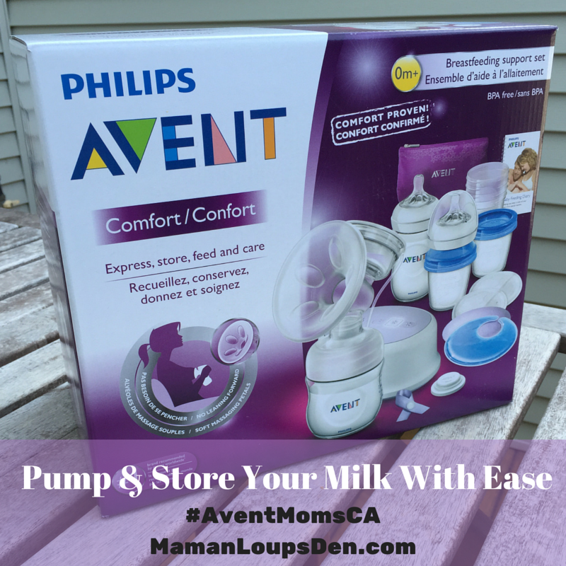 Avent Mom - Pump and Store With Ease #AVENTMomsCA