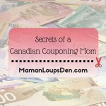 Secrets of a Canadian Couponing Mom