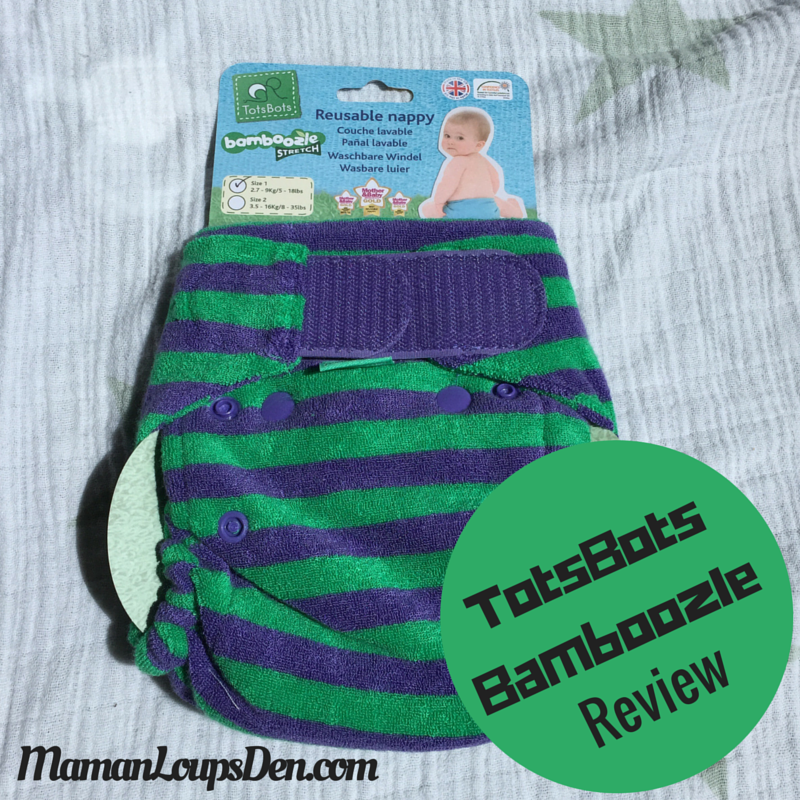 TotsBots Bamboozle Size 1 for a newborn ~ Maman Loup's Den