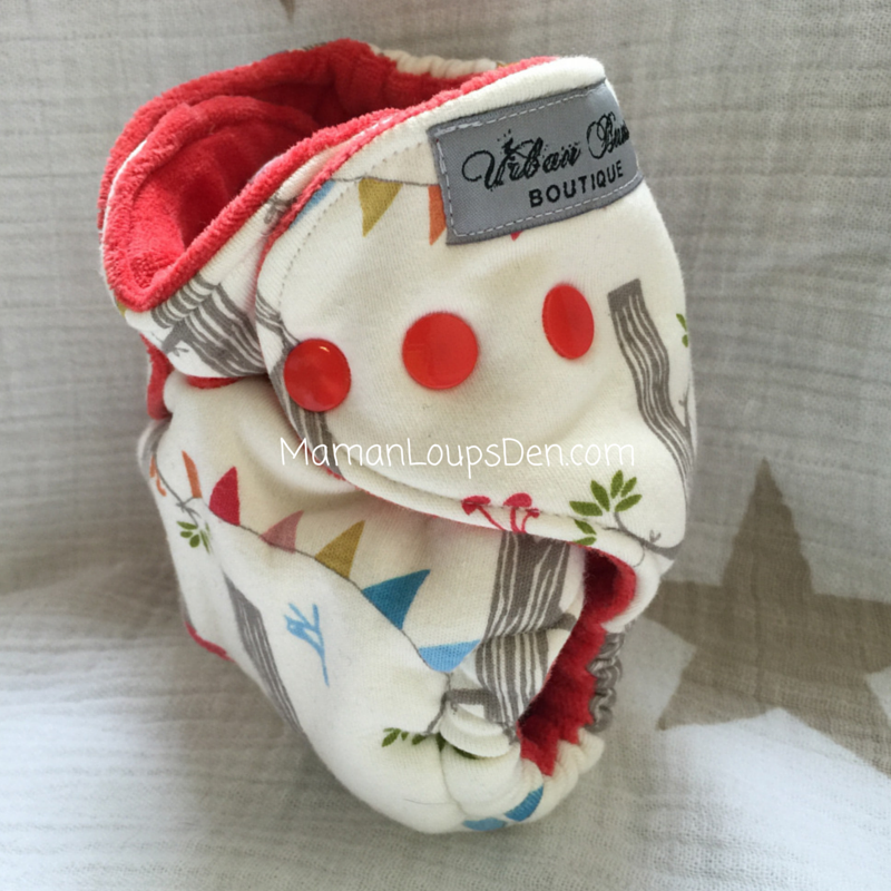 Urban Bums Boutique Newborn Fitted Review ~ Maman Loup's Den