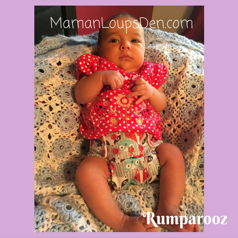 Rumparooz on a Newborn: How Well Do One-Size Diapers Fit a Newborn ~ Maman Loup's Den