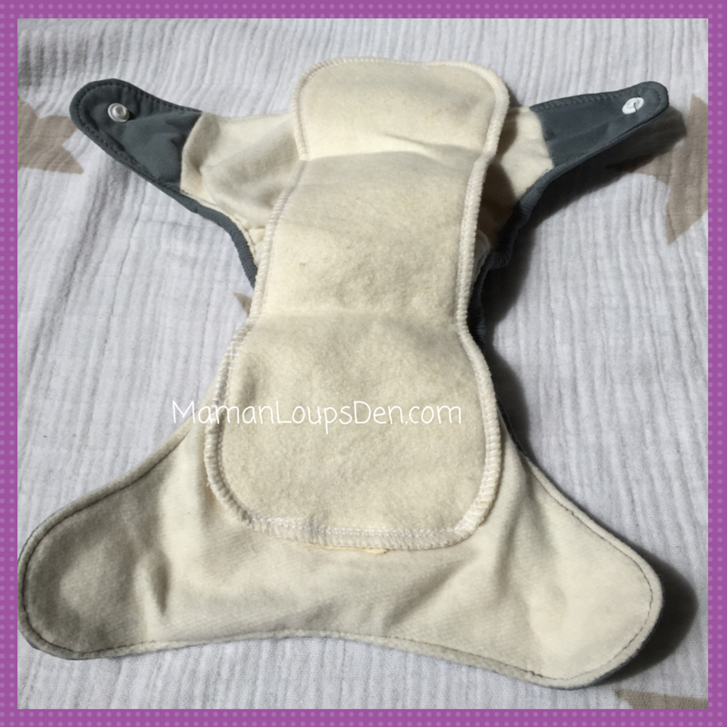 Cheeky Cloth Diaper Co. Newborn AIO Review ~ Maman Loup's Den
