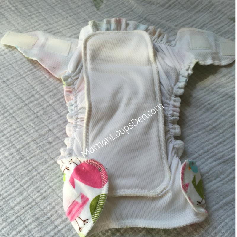 Omaïki Ö Sleep Newborn Diaper & Cover Review ~ Maman Loup's Den