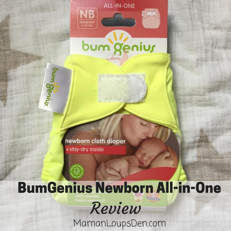 BumGenius Newborn AIO Review ~ Maman Loup's Den