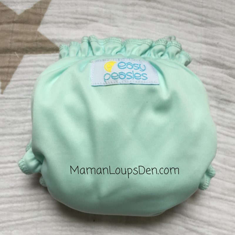Easy Peasies Newborn AIO Review ~ Maman Loup's Den ~ 2