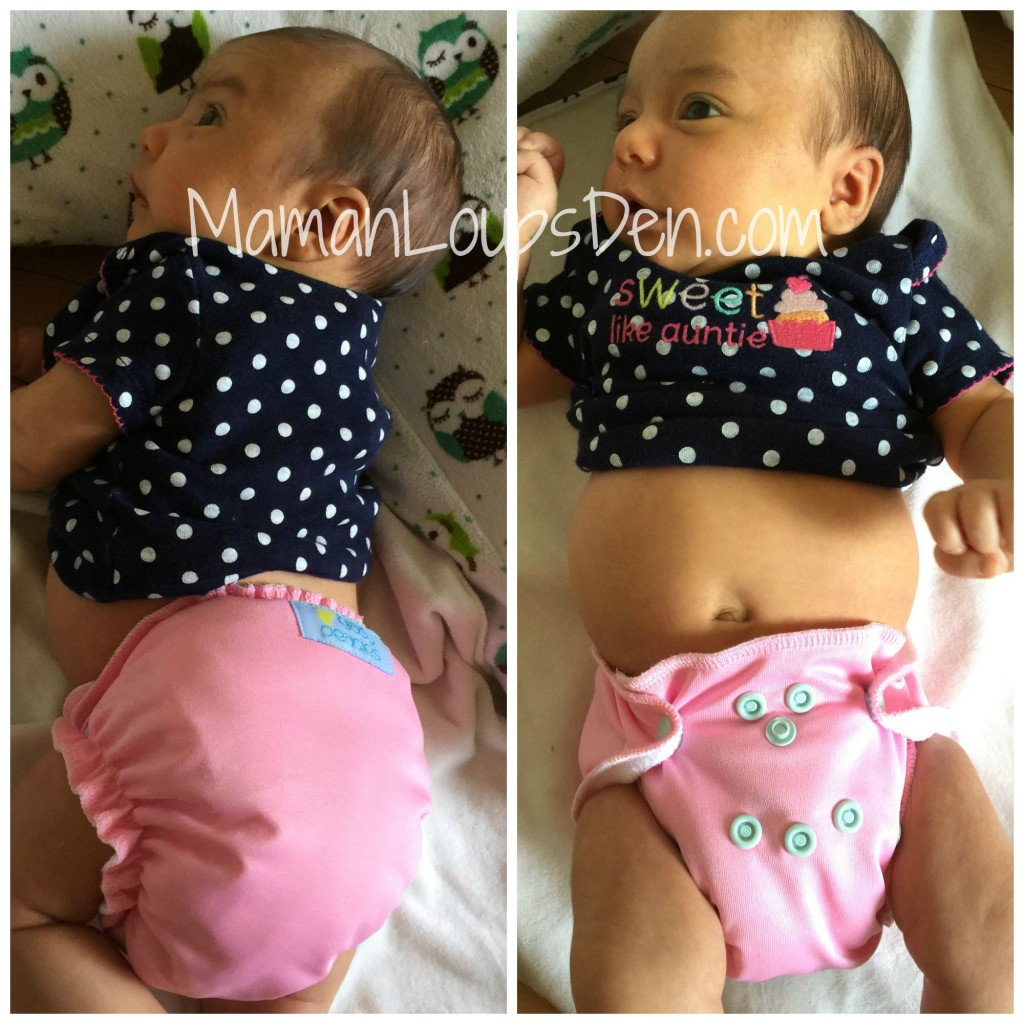 Easy Peasies Newborn AIO Review on Little Miss Cub ~ 4