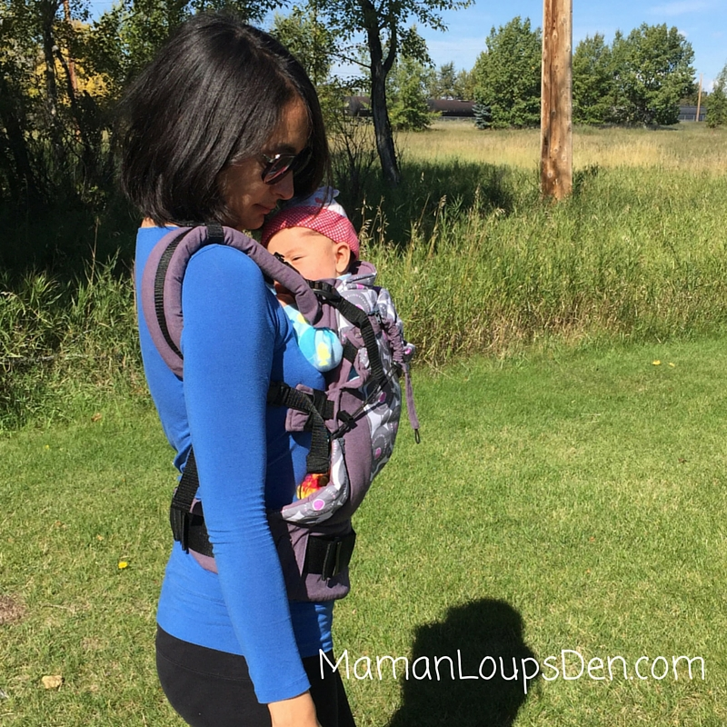 Liliputi Soft Baby Carrier Review ~ Maman Loup's Den ~ Side View