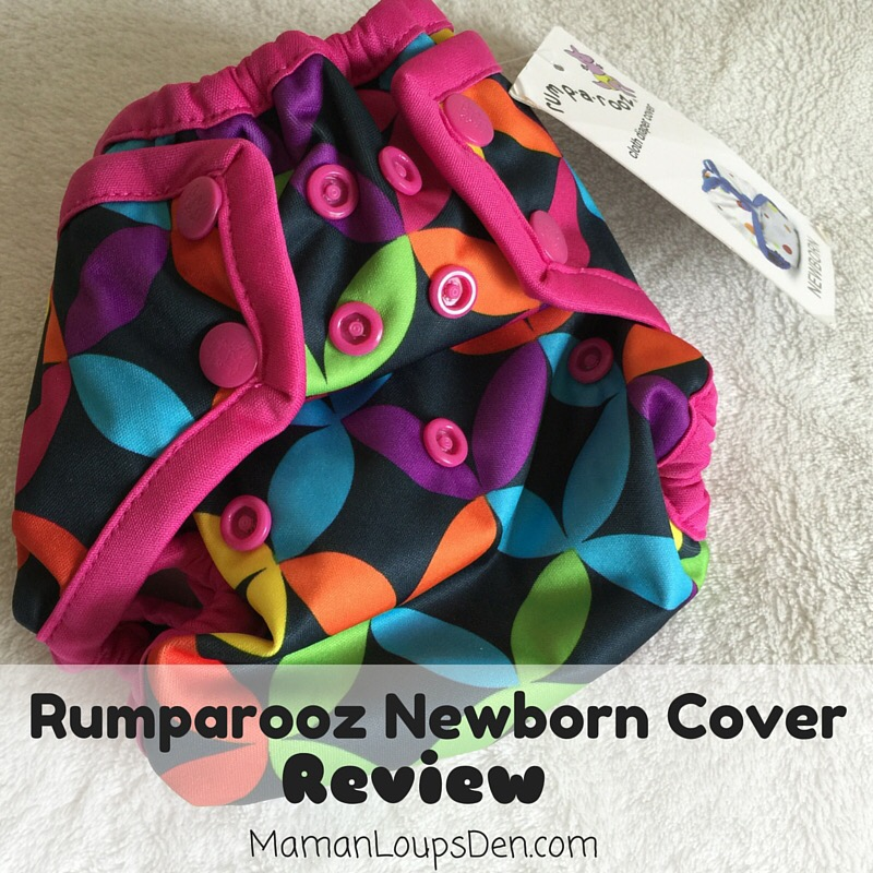 Rumparooz Newborn Diaper Cover Review ~ Maman Loup's Den