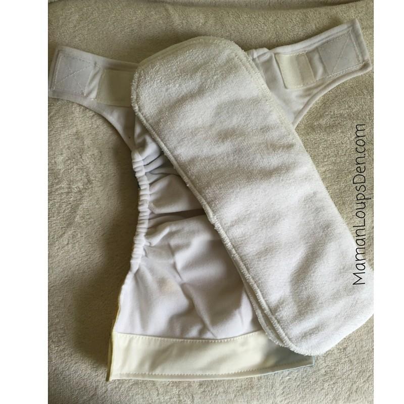 Kawaii Newborn Pocket Diapers Review ~ Maman Loup's Den