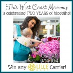 LÍLLÉbaby Carrier Giveaway {This West Coast Mommy's 2-year Bloggiversary!}