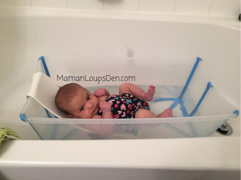Stokke Flexi Bath Review ~ Maman Loup's Den