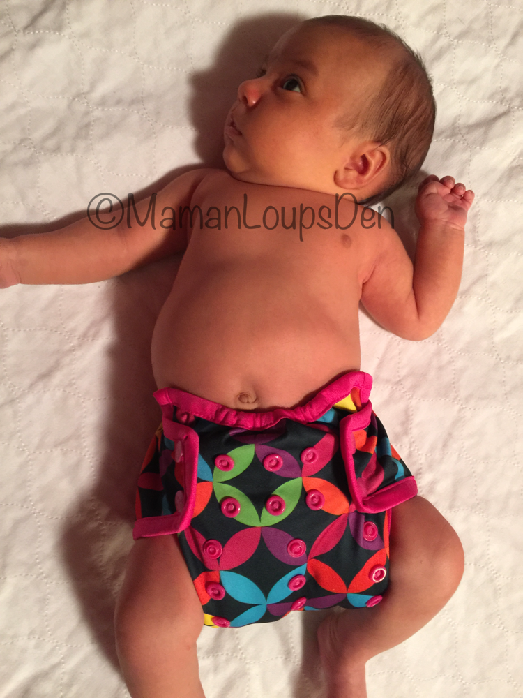 Rumparooz Newborn Cover Review ~ Maman Loup's Den