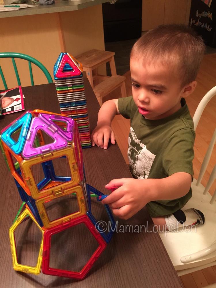 Magformers Review ~ Maman Loup's Den