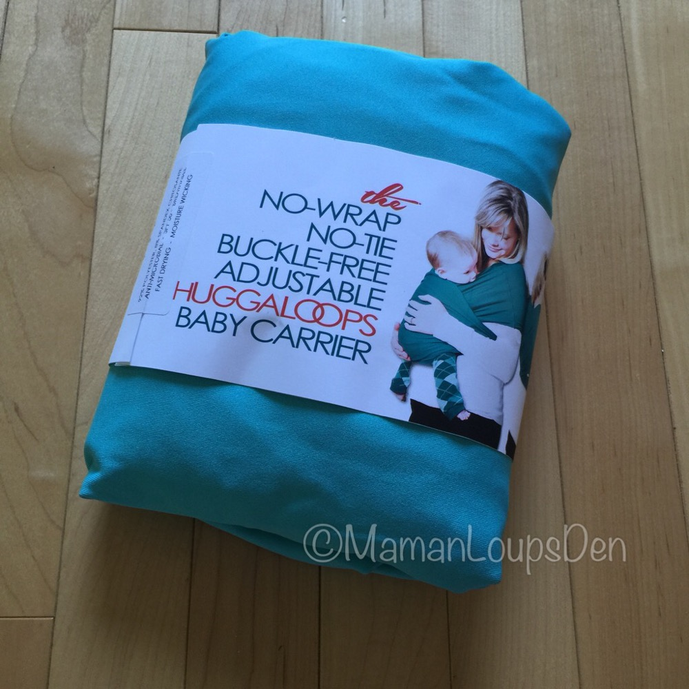 Huggaloops Baby Carrier Review ~ Maman Loup's Den