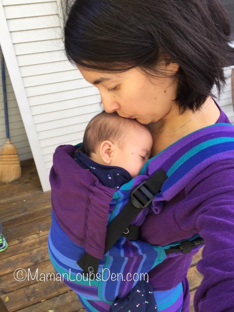 Chimparoo TREK Baby Carrier Review ~ Maman Loup's Den