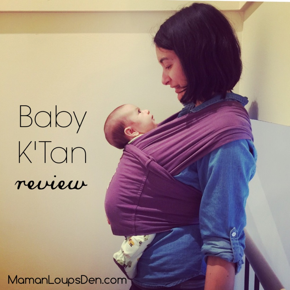 Baby K'Tan Baby Carrier Review ~ Maman Loup's Den