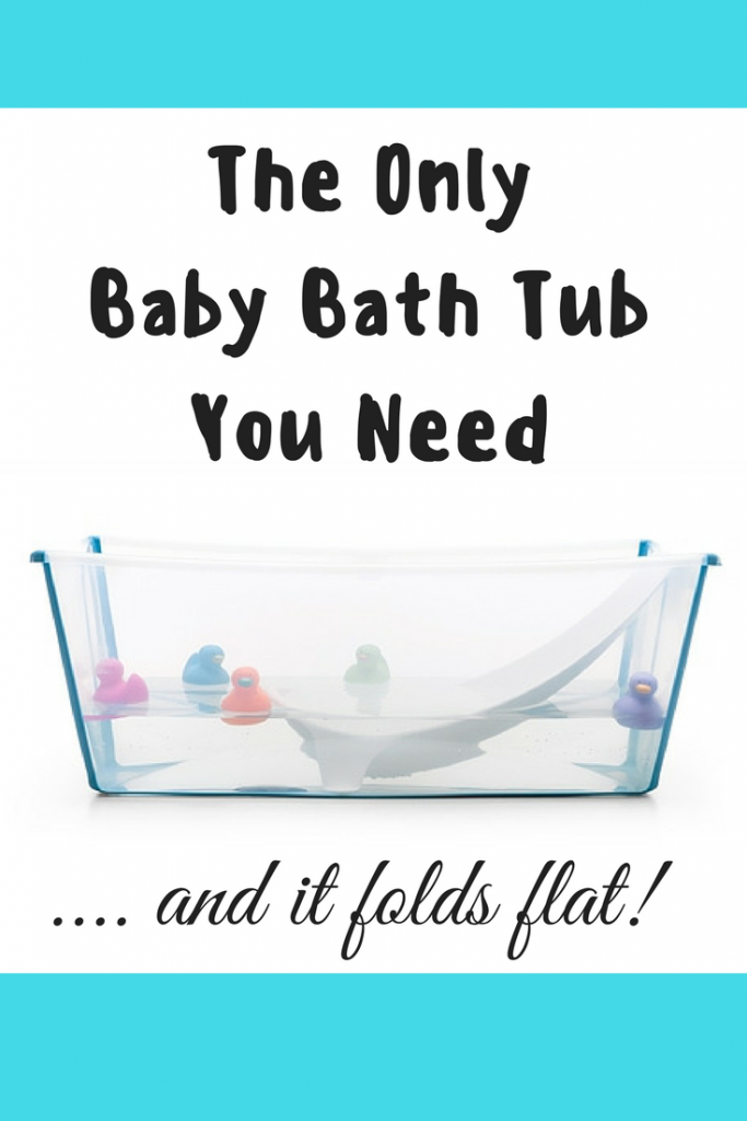 The Only Baby Bath Tub You Need - The Stokke Flexi-Bath
