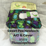 Sweet Pea Newborn Diaper Review