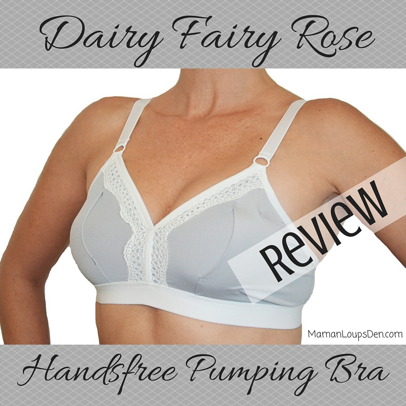 Dairy Fairy Handsfree Pumping Bra Review ~ Maman Loup's Den