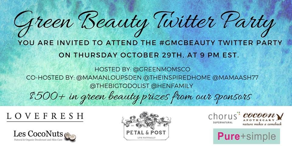 #GMCBeauty Twitter Invite
