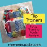 Flip Potty Training Pants Review