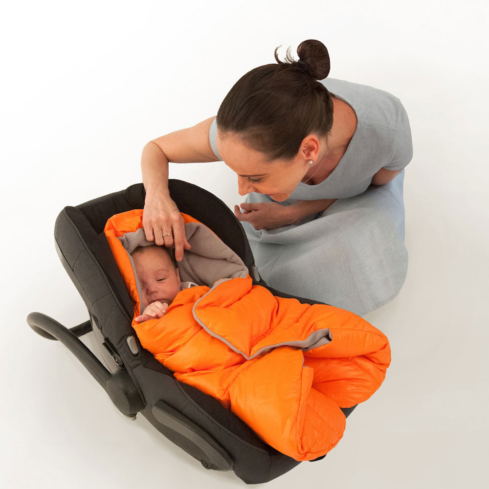 Nido Quilted Car Seat Blanket