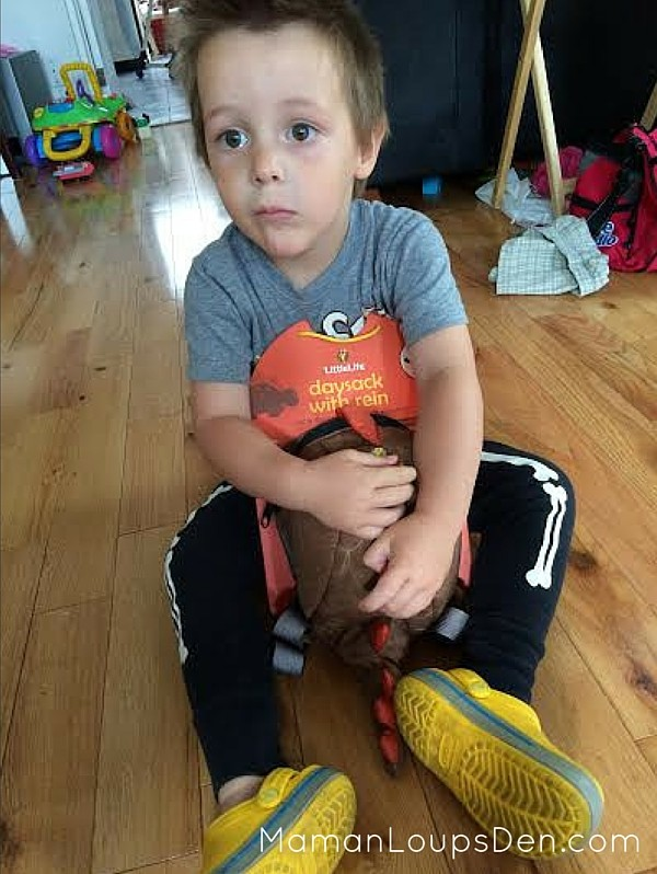 Yup, My Kid's on a Leash! ~ LittleLife Toddler Daysack Review ~ Maman Loup's Den