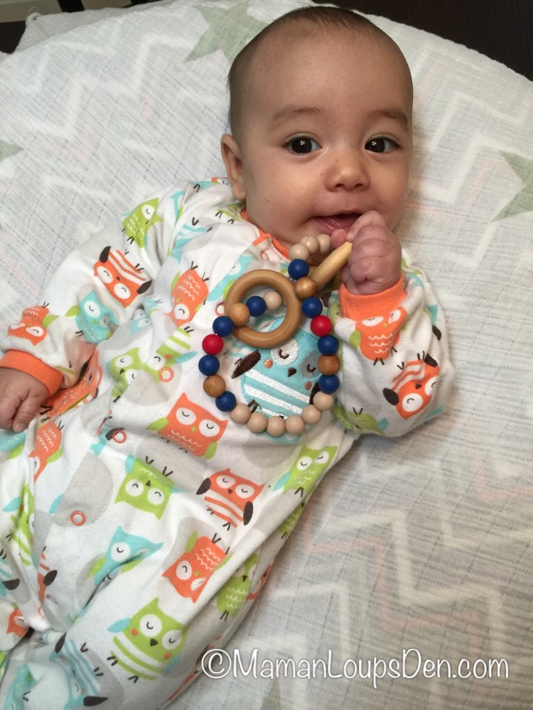 Between You & Me Teething Accessories Review ~ Maman Loup's Den