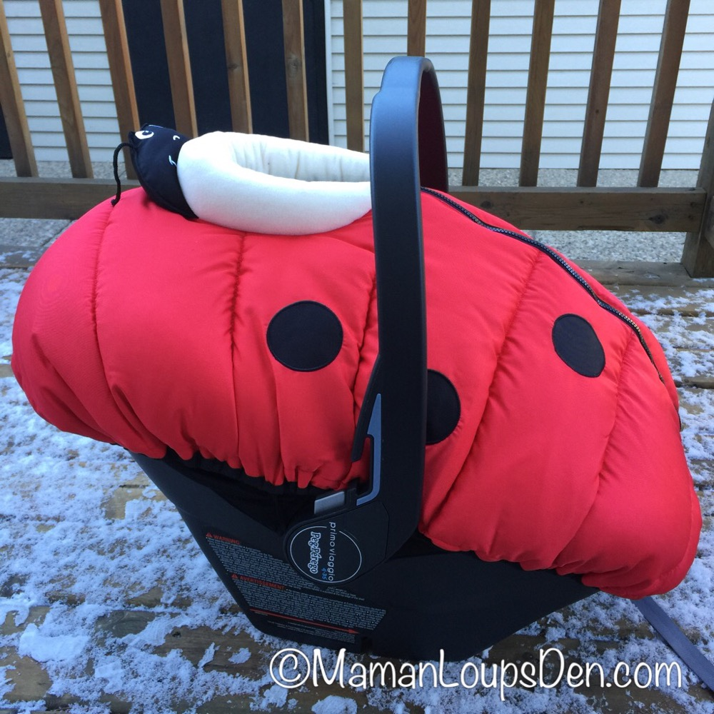 Petit Coulou Car Seat Cover Review ~ Maman Loup's Den