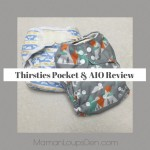 Thirsties One-Size Cloth Diapers Review