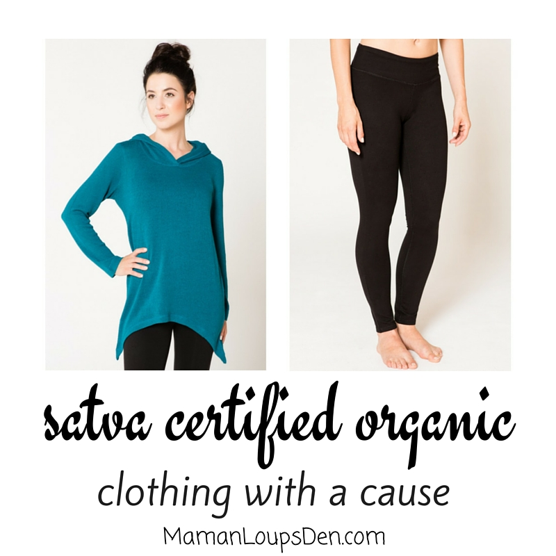 satva certified organic - Clothing With a Cause - Maman Loup's Den