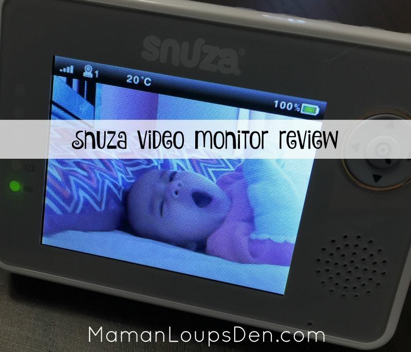 Snuza Video Monitor Review ~ Maman Loup's Den