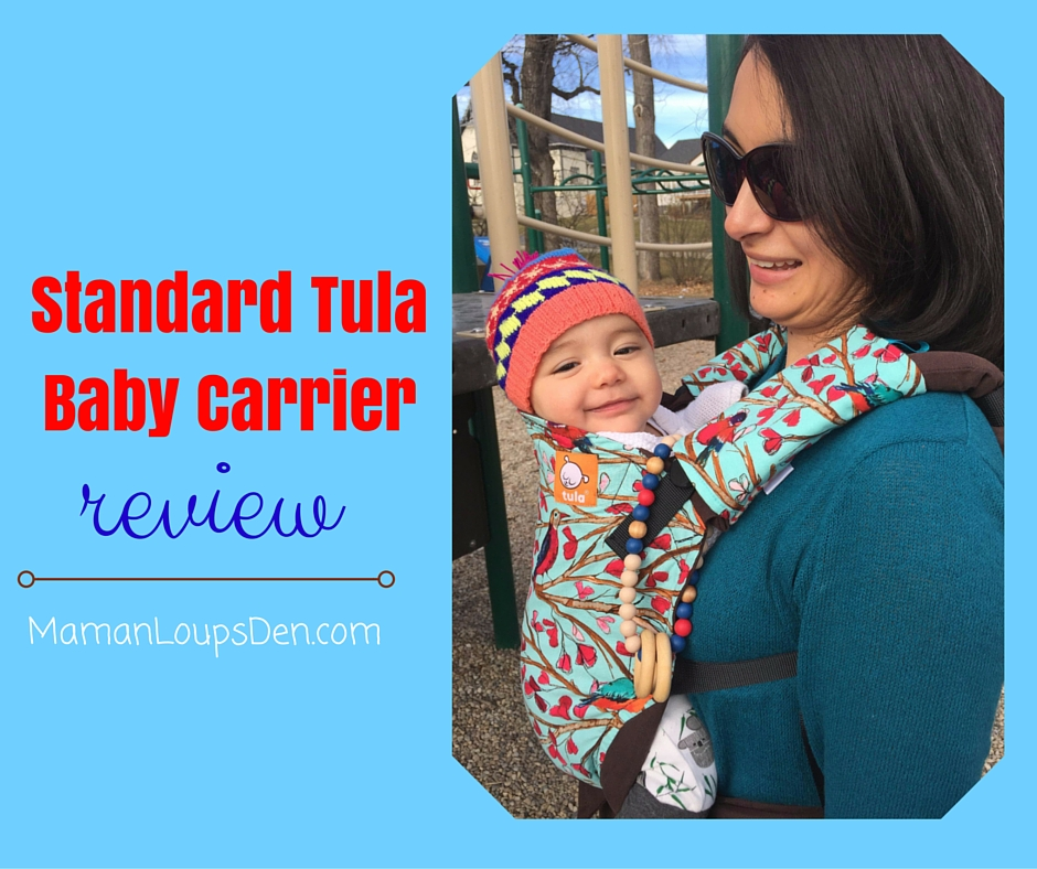 Standard Tula Baby Carrier Review - Maman Loup's Den