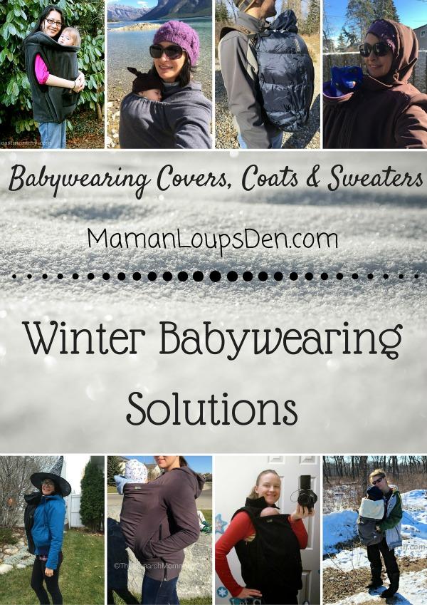 Winter Babywearing Solutions - Maman Loup's Den