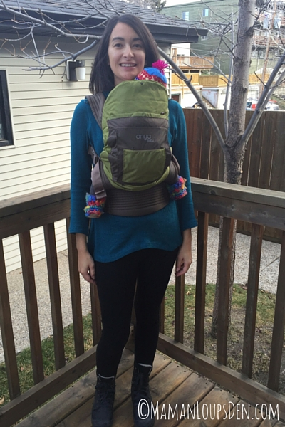 Onya Outback Baby Carrier Review ~ Maman Loup's Den