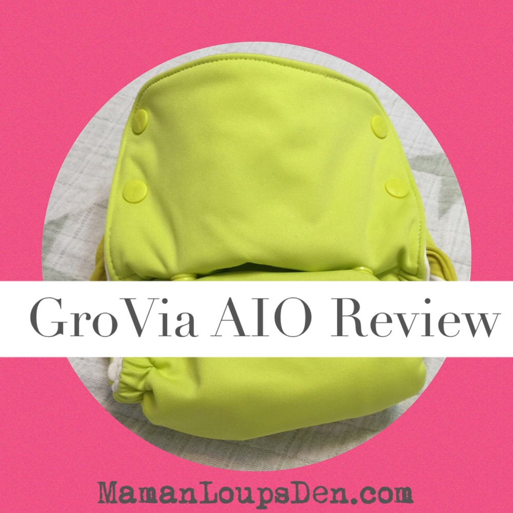 GroVia All-in-One Cloth Diaper Review ~ Maman Loup's Den