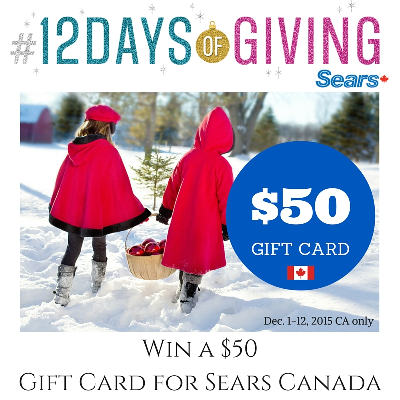 Win a $50Gift Card for Sears Canada